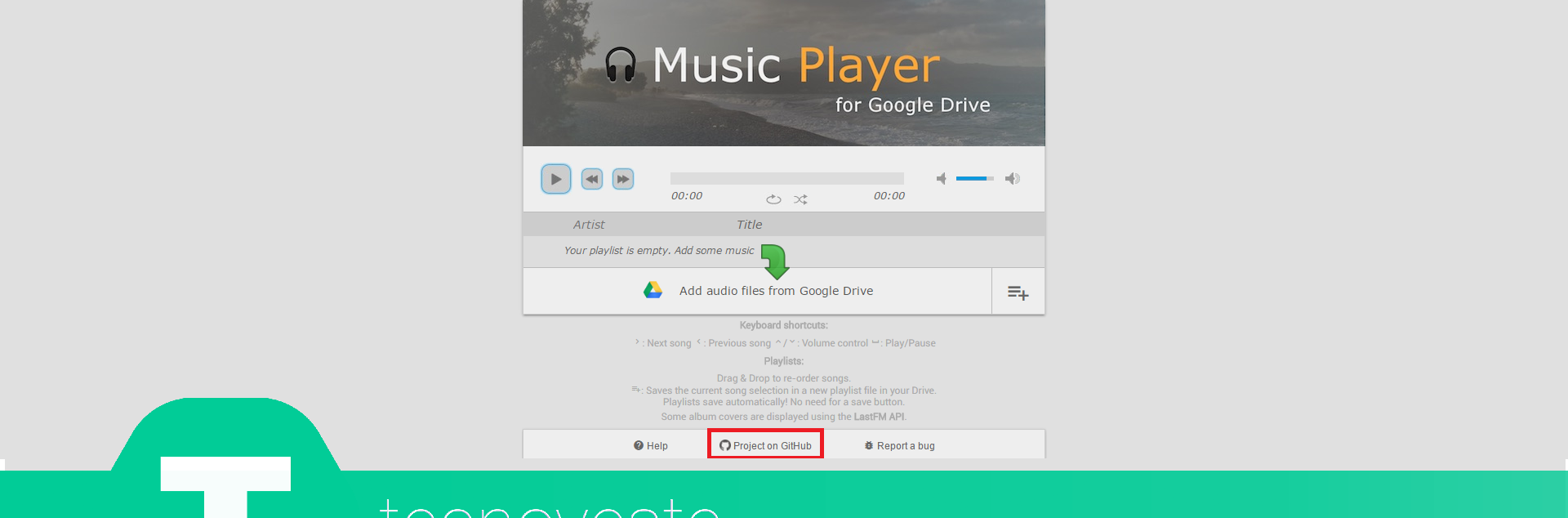 how to put music on google drive