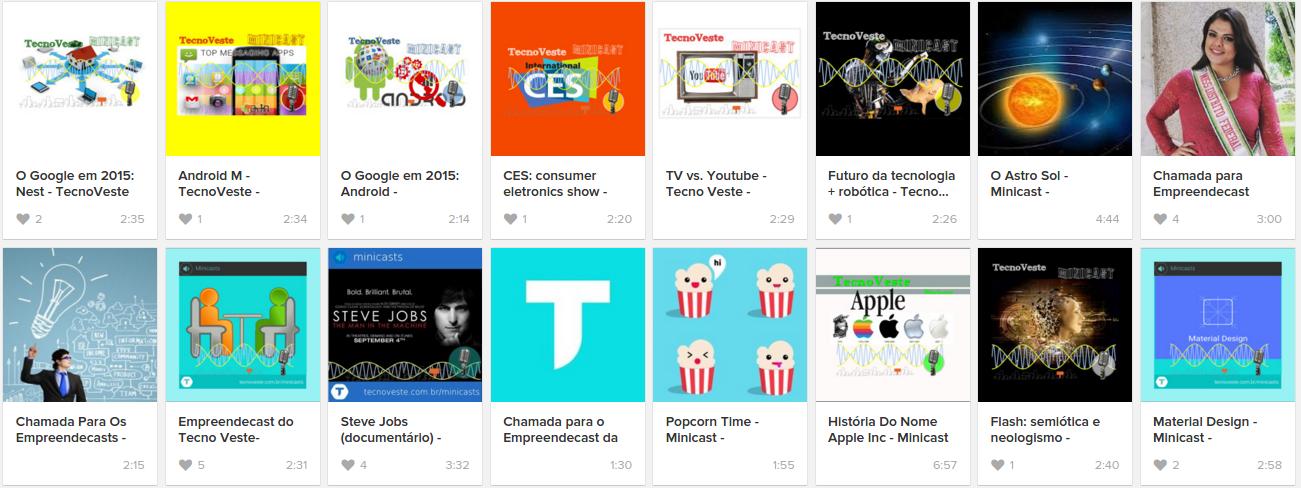 Minicast TecnoVeste SoundCloud