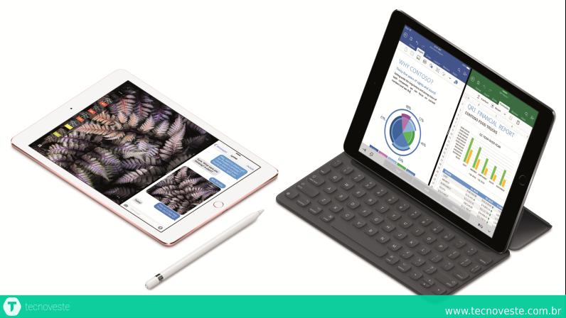 Apple apresenta o novo iPad Pro de 9.7 polegadas
