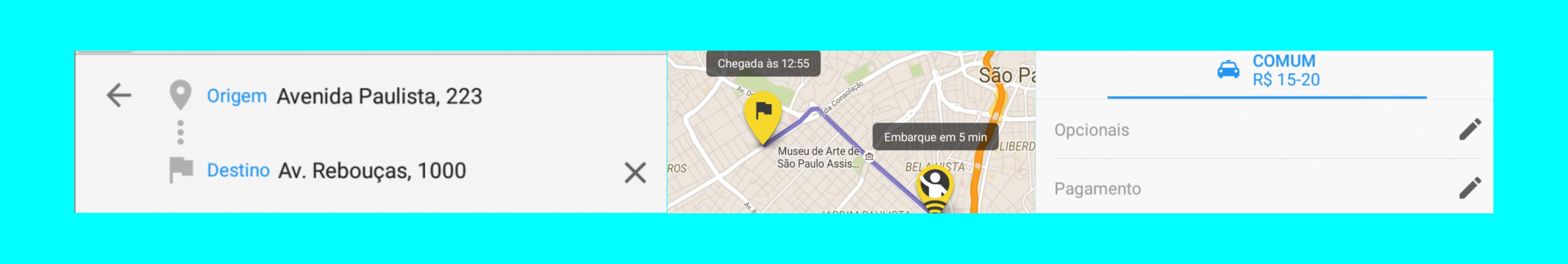 uber dados