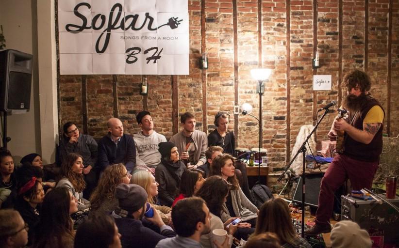 Evento Secreto do Sofar Sounds em Belo Horizonte – songs from a room