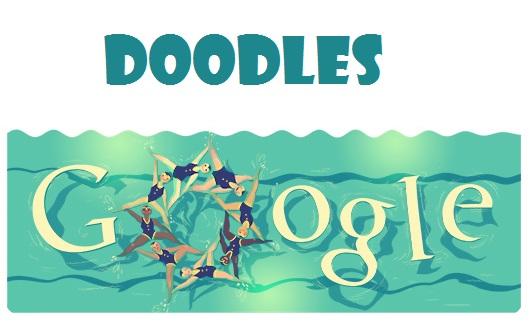Os Doodles da Google nas Olimpíadas de 2016 no Rio de Janeiro