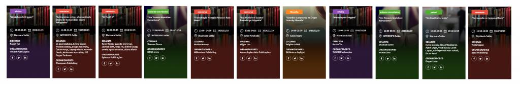 atividades da feira do livro de instambul istanbul kitap fuari book fair authors eduardo spohr