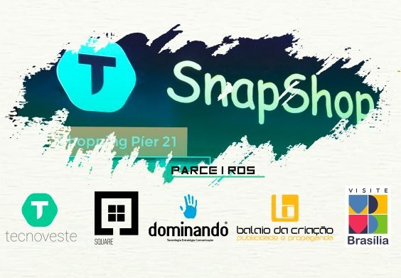 SnapShop no Shopping Pier 21 recebe Square Brasília