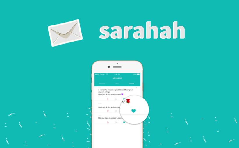 Sarahah: o que é, para que serve e como funciona