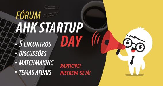1º AHK Startup Day da Câmara Brasil-Alemanha incentiva o empreendedorismo e a tecnologia no Brasil