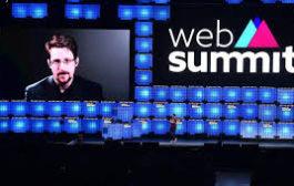 Web Summit 2019:  Refugiado na Rússia, Snowden abre o evento com críticas a coleta de dados na era digital
